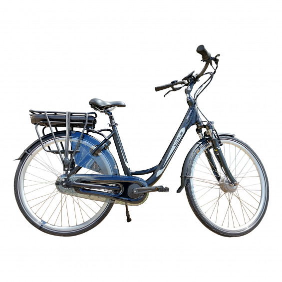 Vogue Elektrische fiets Basic dames mat zwart 49cm N7 468 Watt VOGUE BASIC D49 N7RB MAT ZW/ZW 13AH
