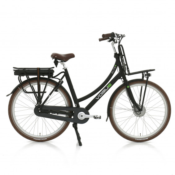 Vogue Elektrische fiets Elite Plus dames mat zwart 57cm 468 Watt VOGUE E-ELITE D57 N7RB MZW 13A