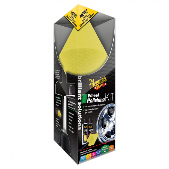 Meguiar's Brilliant Solutions Wheel Polishing Kit Wheel Polishing Kit