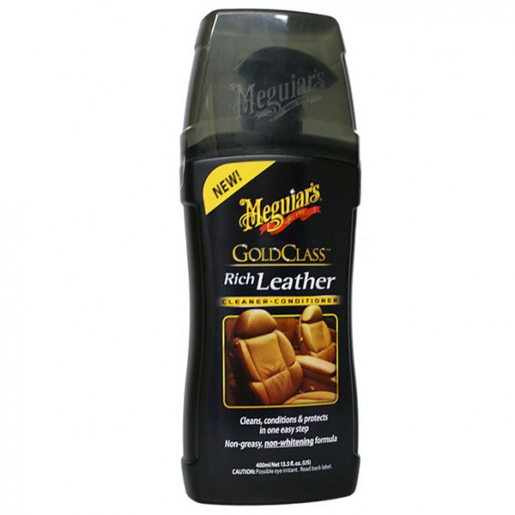 Meguiar's Gold Class Rich Leather Cleaner & Conditioner MEGUIAR'S LEATHER CLEANER/CONDITION