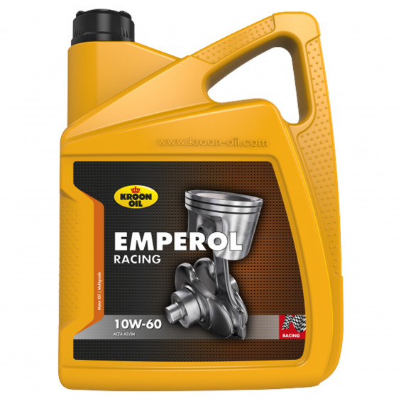 Kroon-Oil Motorolie Emperol Racing 10W60 KROON-OIL RACIN 10W60 5L