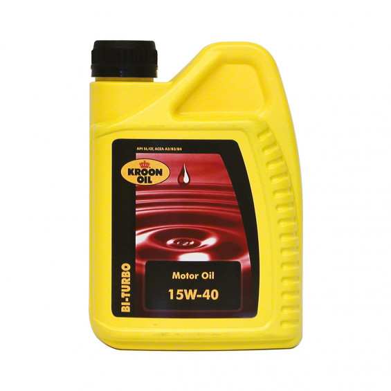 Kroon-Oil Motorolie Bi-Turbo 15W-40 KROON-OIL BI-TURBO 15W-40 1LITER