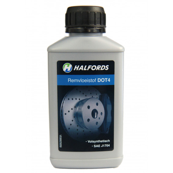 Halfords Remvloeistof DOT 4 HALF.REMVL.DOT4 250ML