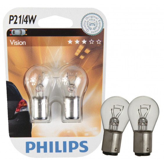 Philips Autolamp P21/4W Vision LAMP PH VISION P21/4W