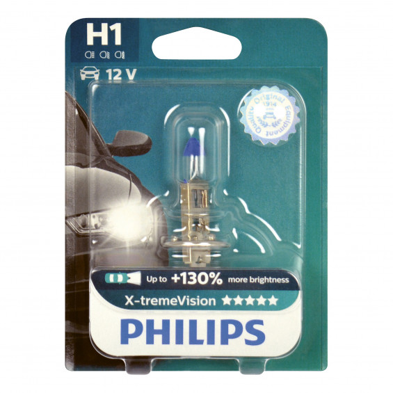 Philips Autolamp X-Tremevision H1 LAMP PH XTREME VIS H1