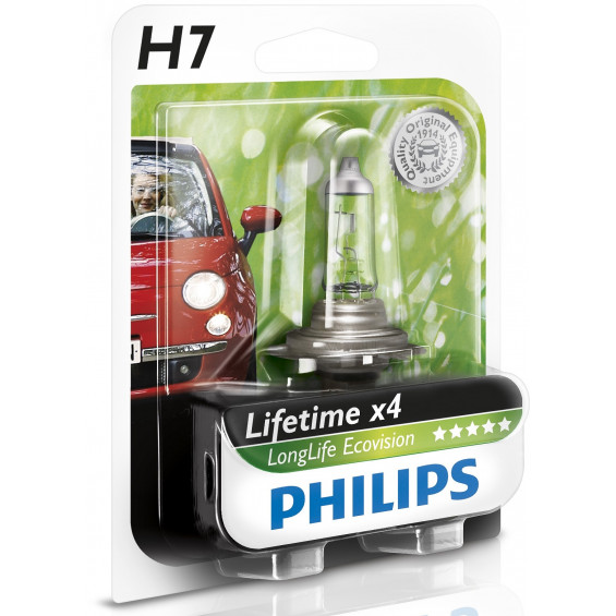 Philips Autolamp EcoVision H7 LAMP PH LONGLIFE ECOVISION H7