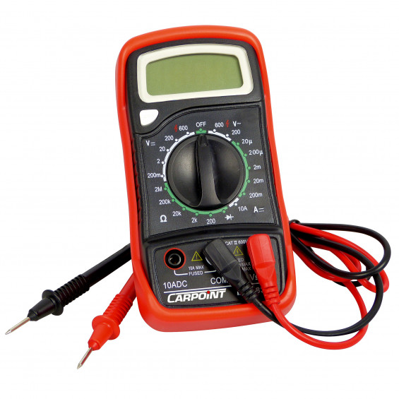 Carpoint Multimeter digitaal CARPOINT MULTIMETER DIGITAAL