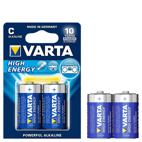 Varta Batterijen High Energy C VARTA HIGH ENERGY C