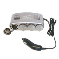 Carpoint Stekkerdoos 4-In-1 12V STEKKERDS 4IN1DC 12V