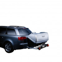 Thule Bagagebox Back Up silver THULE BACKUP RMS BOX