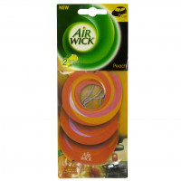 LUCHTVERFR AIRW CIRCLE PEACH&ORANGE