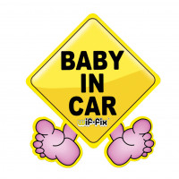 Wiffix Luchtverfrisser Baby In Car WIFFIX BABY IN CAR