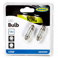 Ring Autolampen C5W LED 11x38mm 11 X 38MM WHITE LED TWIN BLISTER PA