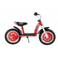 "Disney Cars Loopfiets 12"" CARS LUXE METALEN LOOPFIETS 12"""