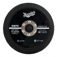 "Meguiar's DA Soft Buff DA Backing Plate 6"" MEGUIAR'S DA SOFT BUFF DA B.PLATE 6"