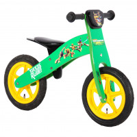 "Volare Loopfiets Ninja Turtles 12"" LOOPFIETS HOUT TURTLES 12"""