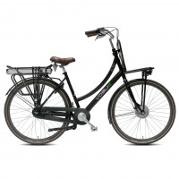 Vogue Elektrische fiets Elite Plus dames mat zwart 50cm 468 Watt VOGUE E-ELITE+D50 N7RB MZW 13A