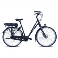 Vogue Elektrische fiets Solution dames mat zwart 51cm 480 Watt VOGUE SOLUTION D51 N8RB M ZWART 13A