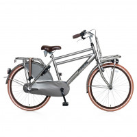 "Popal Kinderfiets Daily Dutch Basic Plus 24""  Titanium POPAL DAILY D. BASIC+ 24""  N3 TITAN"