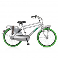 "Popal Kinderfiets Daily Dutch Basic Plus 24""  Groen Grijs POPAL DAILY D. BASIC+ 24""  N3 GR. G"