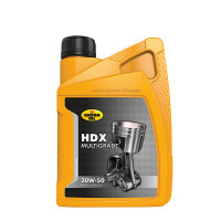 Kroon-Oil 00201 HDX 20W-50 1L KROON-OIL HDX 20W-50 1LTR