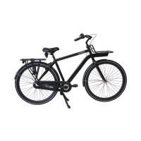 Altego Transportfiets Rebel Nexus 3 Heren Mat Zwart 54cm ALTEGO REBEL NX3 CB H54 MAT ZWART