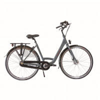 Cumberland Stadsfiets Highline City Nexus 7 Dames mat titaan 53cm CUMBERLAND HIGHL. CITY N7RB D53 MTI