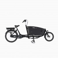 Vogue Elektrische Bakfiets Carry 2 Mat Zwart 468 Watt VOGUE 2CARRY N7DBRB ZW/ZW 13AH