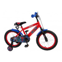 "Spider-Man Kinderfiets Ultimate 16""  Rood ULTIMATE SPIDER-MAN 16""  ROOD"