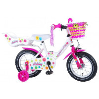 "Volare Kinderfiets Ashley 12""  Wit VOLARE ASHLEY 12""  WIT"