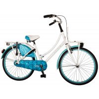 "Volare Kinderfiets Dolce 24""  Wit Blauw VOLARE DOLCE 24""  WIT BLAUW"