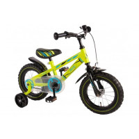 "Volare Kinderfiets Electric Green 12""  Groen VOLARE ELECTRIC GREEN 12""  GROEN"