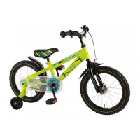 "Volare Kinderfiets Electric Green 16""  Groen VOLARE ELECTRIC GREEN 16""  GROEN"