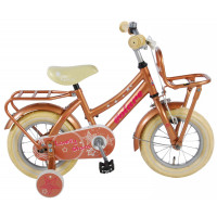 "Volare Kinderfiets Lovely Stars 12""  Goud Goud VOLARE LOVELY STARS 12""  GOUD GOUD"