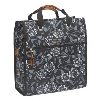 New Looxs Fietstas Shopper Lilly Zarah 18 liter Zwart FIETSTAS LILLY SHOPPER ZARAH ZWART