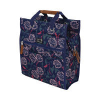 New Looxs Fietstas Lilly Shopper Zarah 18 liter Blauw FIETSTAS LILLY SHOPPER ZARAH BLAUW