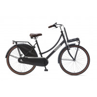 "Popal Kinderfiets Daily Dutch Mat Zwart 26"" POPAL DAILY D. BASIC+ 26""  N3 M. ZW"