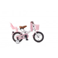 "Popal Kinderfiets Little Miss 12""  Wit POPAL KINDERFIETS LITTLE MISS 12"""