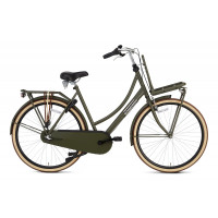 Popal Transportfiets Daily Dutch Basic Plus Dames Army Groen 50cm POPAL DAILY D. B+ N3RN D50 ARMY GRO