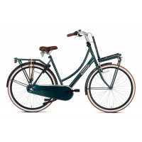 Popal Transportfiets Daily Dutch Basic Plus Dames Forest Groen 57cm POPAL DAILY D. B+ N3RN D57 FOREST G
