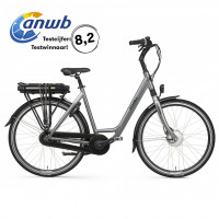 Popal Elektrische stadsfiets E-volution Dames Iron Grey 47cm 470 Watt POPAL E-VOLUTION 12.2 N8RB D47 I.GR
