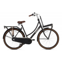 Popal Transportfiets Daily Dutch Basic Plus Dames Mat Zwart 50cm POPAL DAILY D. B+ N3RN D50 M. ZWART