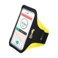 Celly Sport Armband Telefoon Geel CELLY SPORT ARMBAND TELEFOON GEEL