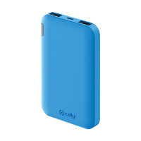 Celly powerbank Energy 5000 mAh Blauw CELLY POWERBANK 5000 MAH BLAUW