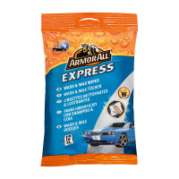 Armor All Express Wash & Wax Wipes 12pcs XL ARMOR ALL EXPRESS WASH & WAX WIPES