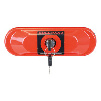 BULL-LOCK OVAL LOCK INCL BACK BRACK