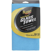 Meguiar's Perfect Clarity Glass Towel MEGUIAR'S PERFECT CLARITY GLASS TOW