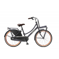 "Popal Kinderfiets Daily Dutch Basic Plus N3 petrol blauw 24"" POPAL DAILY D.BASIC+ 24"" N3 PETROL"