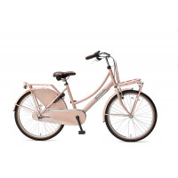 "Popal Kinderfiets Daily Dutch Basic Plus N3 zalm roze 24"" POPAL DAILY D.BASIC+ 24"" N3 ZALM"