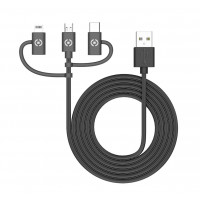 CELLY 3 IN 1 UNIVERSAL CABLE